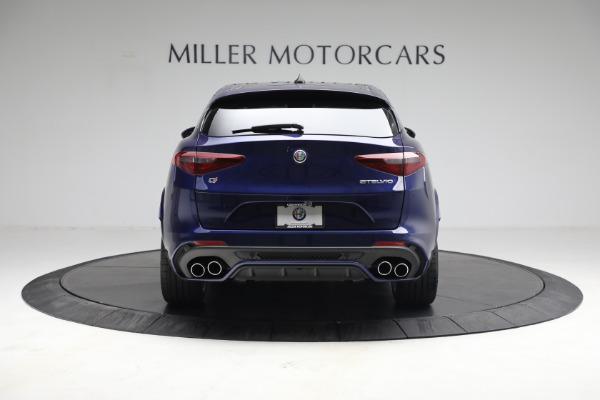 New 2021 Alfa Romeo Stelvio Quadrifoglio for sale $88,550 at Maserati of Greenwich in Greenwich CT 06830 6