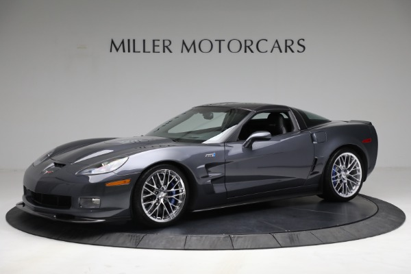 Used 2010 Chevrolet Corvette ZR1 for sale Call for price at Maserati of Greenwich in Greenwich CT 06830 2