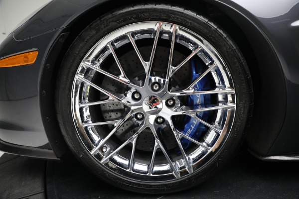 Used 2010 Chevrolet Corvette ZR1 for sale Call for price at Maserati of Greenwich in Greenwich CT 06830 23