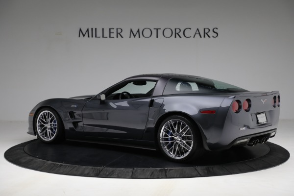 Used 2010 Chevrolet Corvette ZR1 for sale Call for price at Maserati of Greenwich in Greenwich CT 06830 4