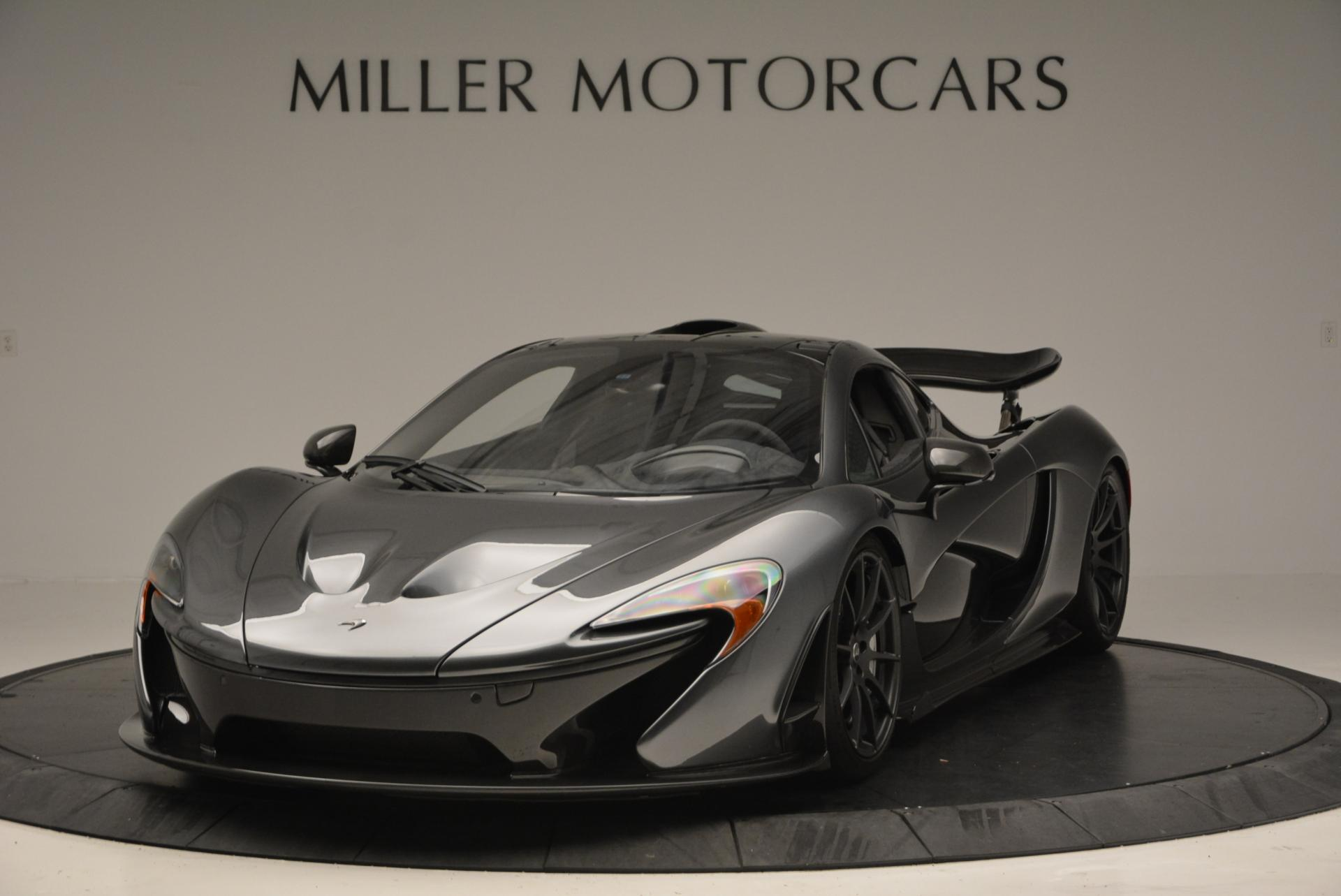 Used 2014 McLaren P1 Coupe for sale Call for price at Maserati of Greenwich in Greenwich CT 06830 1