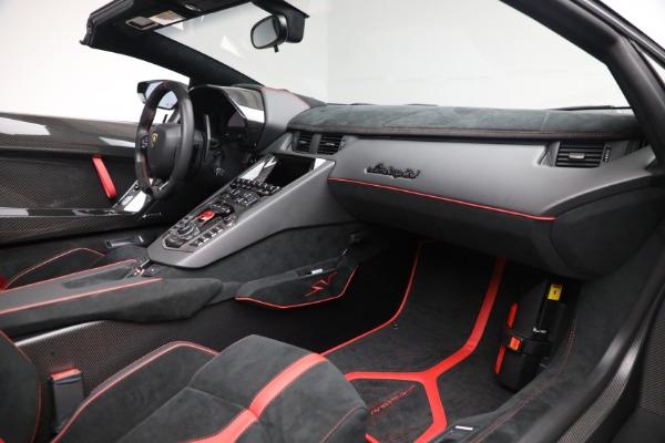 Used 2017 Lamborghini Aventador LP 750-4 SV for sale $589,900 at Maserati of Greenwich in Greenwich CT 06830 22
