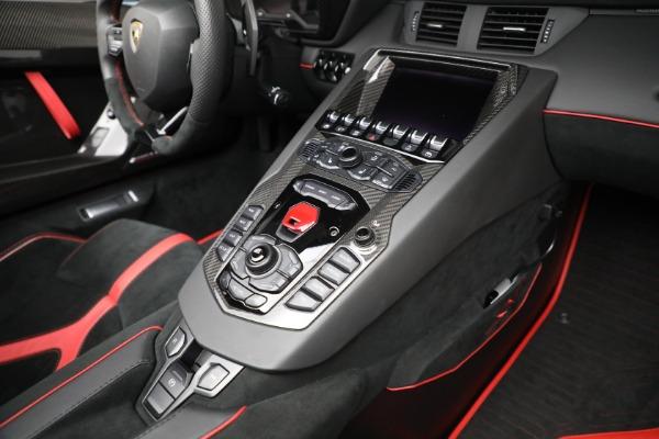Used 2017 Lamborghini Aventador LP 750-4 SV for sale $589,900 at Maserati of Greenwich in Greenwich CT 06830 25