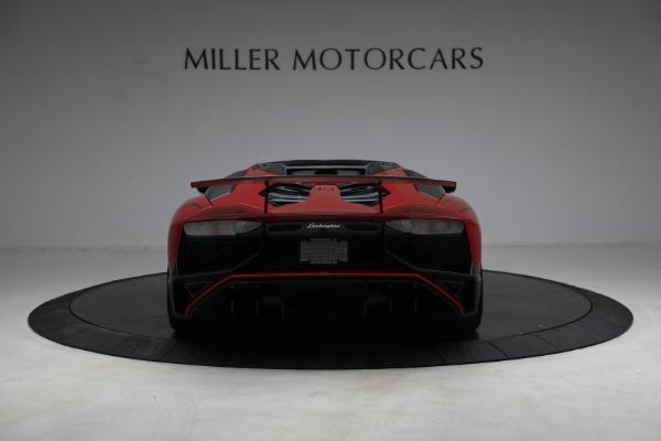 Used 2017 Lamborghini Aventador LP 750-4 SV for sale $589,900 at Maserati of Greenwich in Greenwich CT 06830 6
