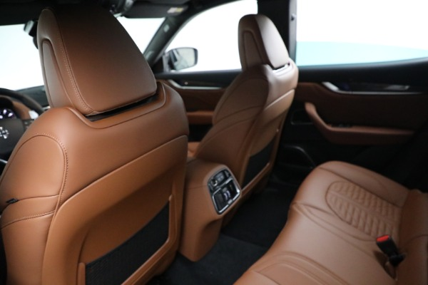 New 2021 Maserati Levante S GranSport for sale $112,899 at Maserati of Greenwich in Greenwich CT 06830 17