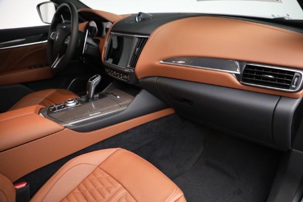 New 2021 Maserati Levante S GranSport for sale $112,899 at Maserati of Greenwich in Greenwich CT 06830 19