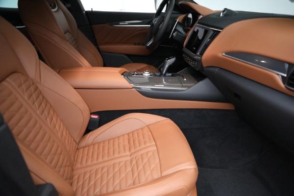 New 2021 Maserati Levante S GranSport for sale $112,899 at Maserati of Greenwich in Greenwich CT 06830 20