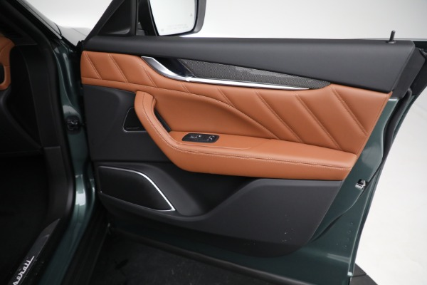 New 2021 Maserati Levante S GranSport for sale $112,899 at Maserati of Greenwich in Greenwich CT 06830 21