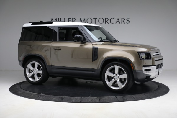 Used 2021 Land Rover Defender 90 First Edition for sale $69,900 at Maserati of Greenwich in Greenwich CT 06830 10