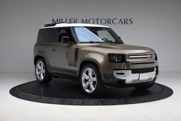 Used 2021 Land Rover Defender 90 First Edition for sale $69,900 at Maserati of Greenwich in Greenwich CT 06830 11
