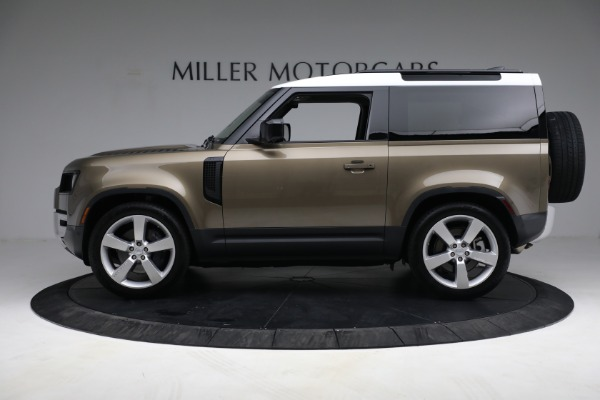 Used 2021 Land Rover Defender 90 First Edition for sale $69,900 at Maserati of Greenwich in Greenwich CT 06830 13