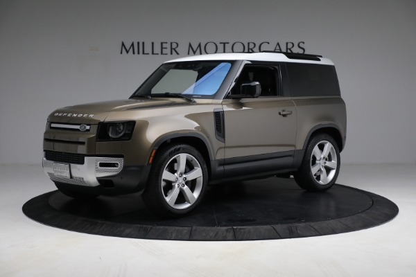 Used 2021 Land Rover Defender 90 First Edition for sale $69,900 at Maserati of Greenwich in Greenwich CT 06830 2