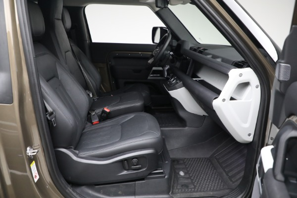 Used 2021 Land Rover Defender 90 First Edition for sale $69,900 at Maserati of Greenwich in Greenwich CT 06830 22