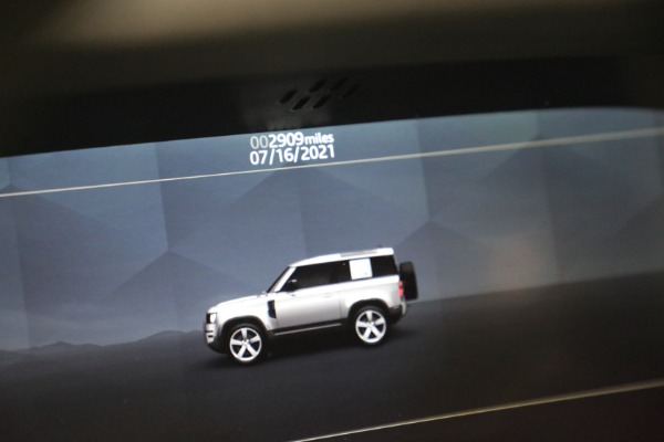 Used 2021 Land Rover Defender 90 First Edition for sale $69,900 at Maserati of Greenwich in Greenwich CT 06830 24