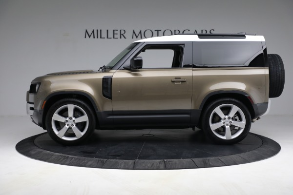 Used 2021 Land Rover Defender 90 First Edition for sale $69,900 at Maserati of Greenwich in Greenwich CT 06830 3