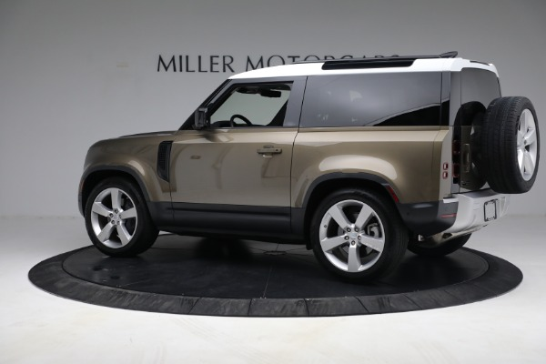 Used 2021 Land Rover Defender 90 First Edition for sale $69,900 at Maserati of Greenwich in Greenwich CT 06830 4