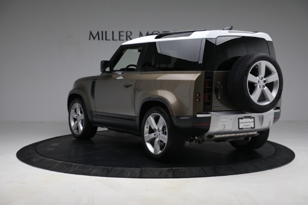 Used 2021 Land Rover Defender 90 First Edition for sale $69,900 at Maserati of Greenwich in Greenwich CT 06830 5