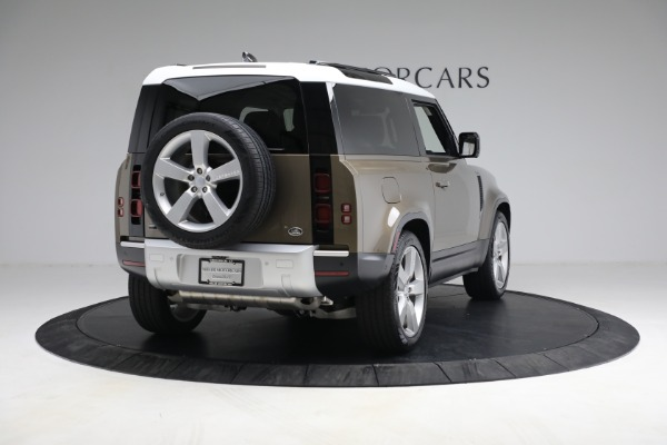 Used 2021 Land Rover Defender 90 First Edition for sale $69,900 at Maserati of Greenwich in Greenwich CT 06830 7
