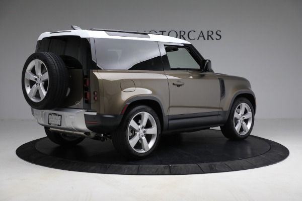 Used 2021 Land Rover Defender 90 First Edition for sale $69,900 at Maserati of Greenwich in Greenwich CT 06830 8