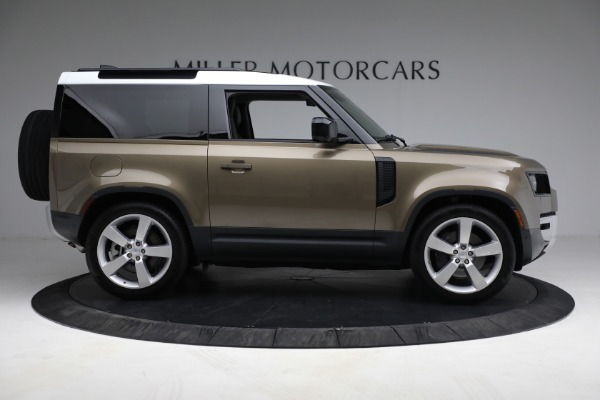 Used 2021 Land Rover Defender 90 First Edition for sale $69,900 at Maserati of Greenwich in Greenwich CT 06830 9