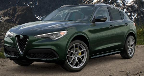 New 2021 Alfa Romeo Stelvio Ti for sale $57,750 at Maserati of Greenwich in Greenwich CT 06830 1