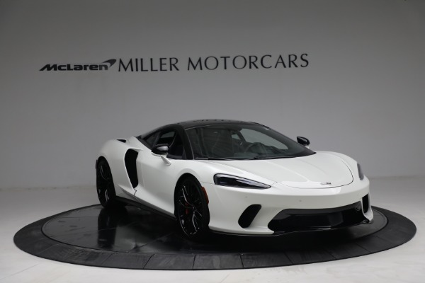 New 2021 McLaren GT Luxe for sale $217,205 at Maserati of Greenwich in Greenwich CT 06830 11