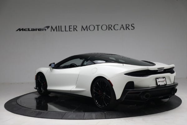 New 2021 McLaren GT Luxe for sale $217,205 at Maserati of Greenwich in Greenwich CT 06830 5