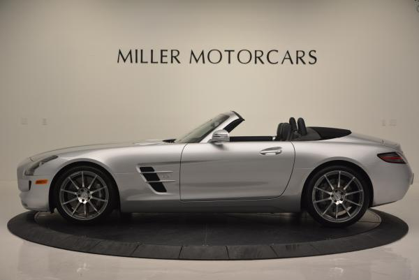 Used 2012 Mercedes Benz SLS AMG for sale Sold at Maserati of Greenwich in Greenwich CT 06830 3