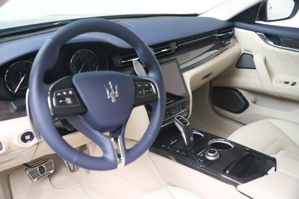 New 2021 Maserati Quattroporte S Q4 GranLusso for sale $126,149 at Maserati of Greenwich in Greenwich CT 06830 13