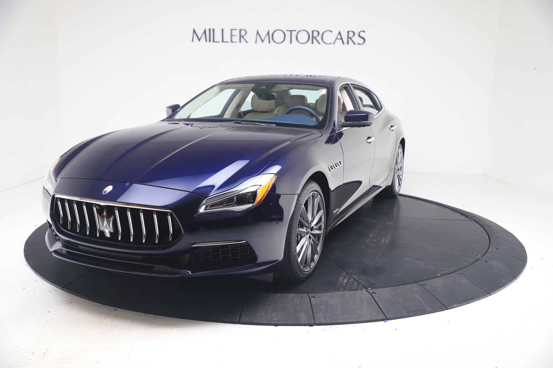 New 2021 Maserati Quattroporte S Q4 GranLusso for sale $126,149 at Maserati of Greenwich in Greenwich CT 06830 1