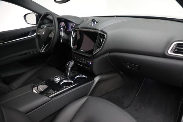 New 2021 Maserati Ghibli SQ4 for sale $92,894 at Maserati of Greenwich in Greenwich CT 06830 25
