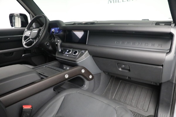 Used 2021 Land Rover Defender 90 X for sale Call for price at Maserati of Greenwich in Greenwich CT 06830 13