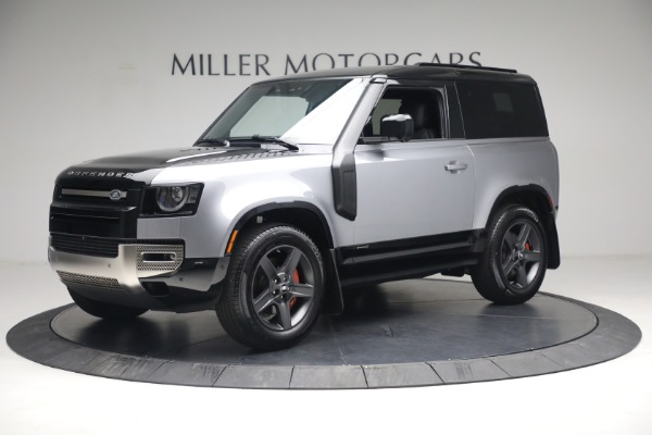 Used 2021 Land Rover Defender 90 X for sale Call for price at Maserati of Greenwich in Greenwich CT 06830 2