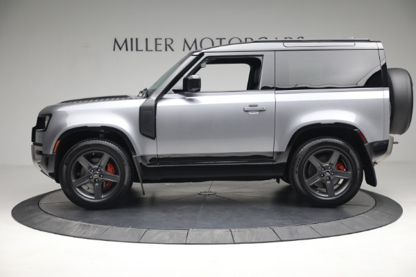 Used 2021 Land Rover Defender 90 X for sale Call for price at Maserati of Greenwich in Greenwich CT 06830 3