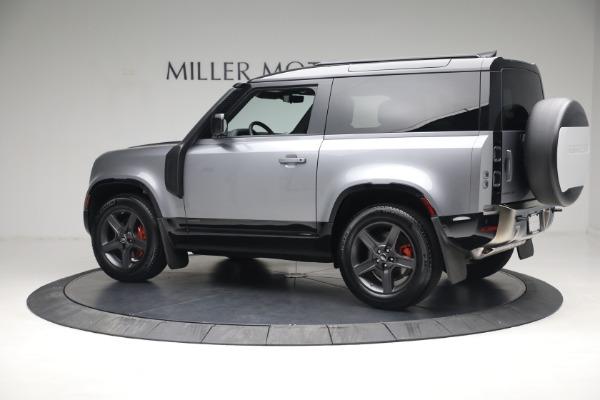 Used 2021 Land Rover Defender 90 X for sale Call for price at Maserati of Greenwich in Greenwich CT 06830 4