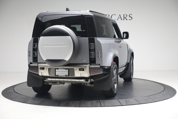 Used 2021 Land Rover Defender 90 X for sale Call for price at Maserati of Greenwich in Greenwich CT 06830 5