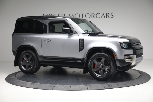 Used 2021 Land Rover Defender 90 X for sale Call for price at Maserati of Greenwich in Greenwich CT 06830 7