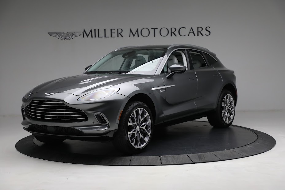 Used 2021 Aston Martin DBX for sale Sold at Maserati of Greenwich in Greenwich CT 06830 1