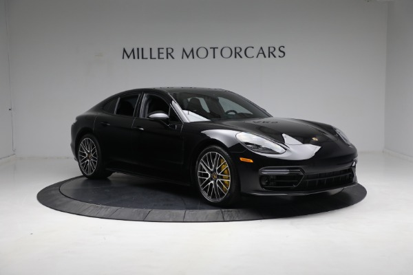 Used 2021 Porsche Panamera Turbo S for sale Call for price at Maserati of Greenwich in Greenwich CT 06830 10