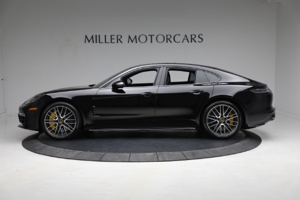Used 2021 Porsche Panamera Turbo S for sale Call for price at Maserati of Greenwich in Greenwich CT 06830 2