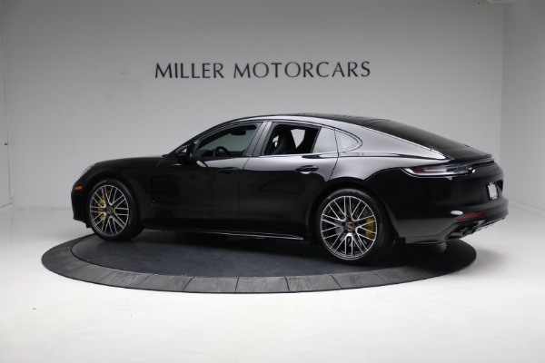 Used 2021 Porsche Panamera Turbo S for sale Call for price at Maserati of Greenwich in Greenwich CT 06830 3