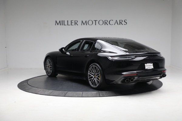 Used 2021 Porsche Panamera Turbo S for sale Call for price at Maserati of Greenwich in Greenwich CT 06830 4
