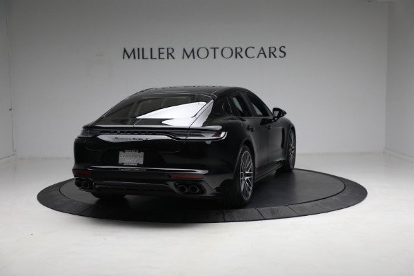 Used 2021 Porsche Panamera Turbo S for sale Call for price at Maserati of Greenwich in Greenwich CT 06830 6