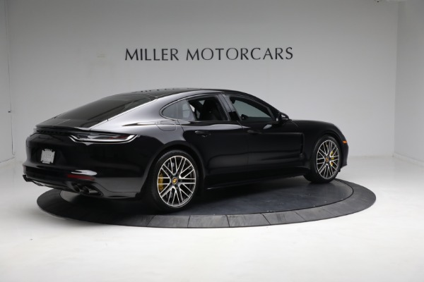 Used 2021 Porsche Panamera Turbo S for sale Call for price at Maserati of Greenwich in Greenwich CT 06830 7