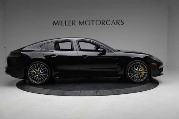 Used 2021 Porsche Panamera Turbo S for sale Call for price at Maserati of Greenwich in Greenwich CT 06830 8