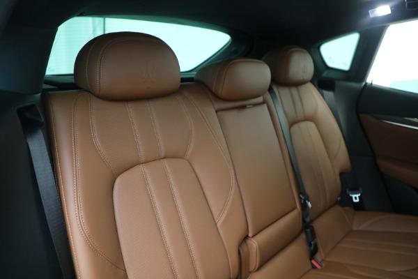 New 2021 Maserati Levante S GranSport for sale Sold at Maserati of Greenwich in Greenwich CT 06830 24