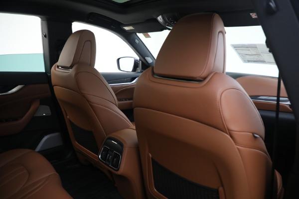 New 2021 Maserati Levante S GranSport for sale Sold at Maserati of Greenwich in Greenwich CT 06830 26