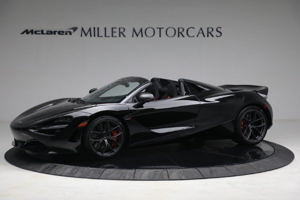 New 2021 McLaren 720S Spider for sale $374,120 at Maserati of Greenwich in Greenwich CT 06830 2