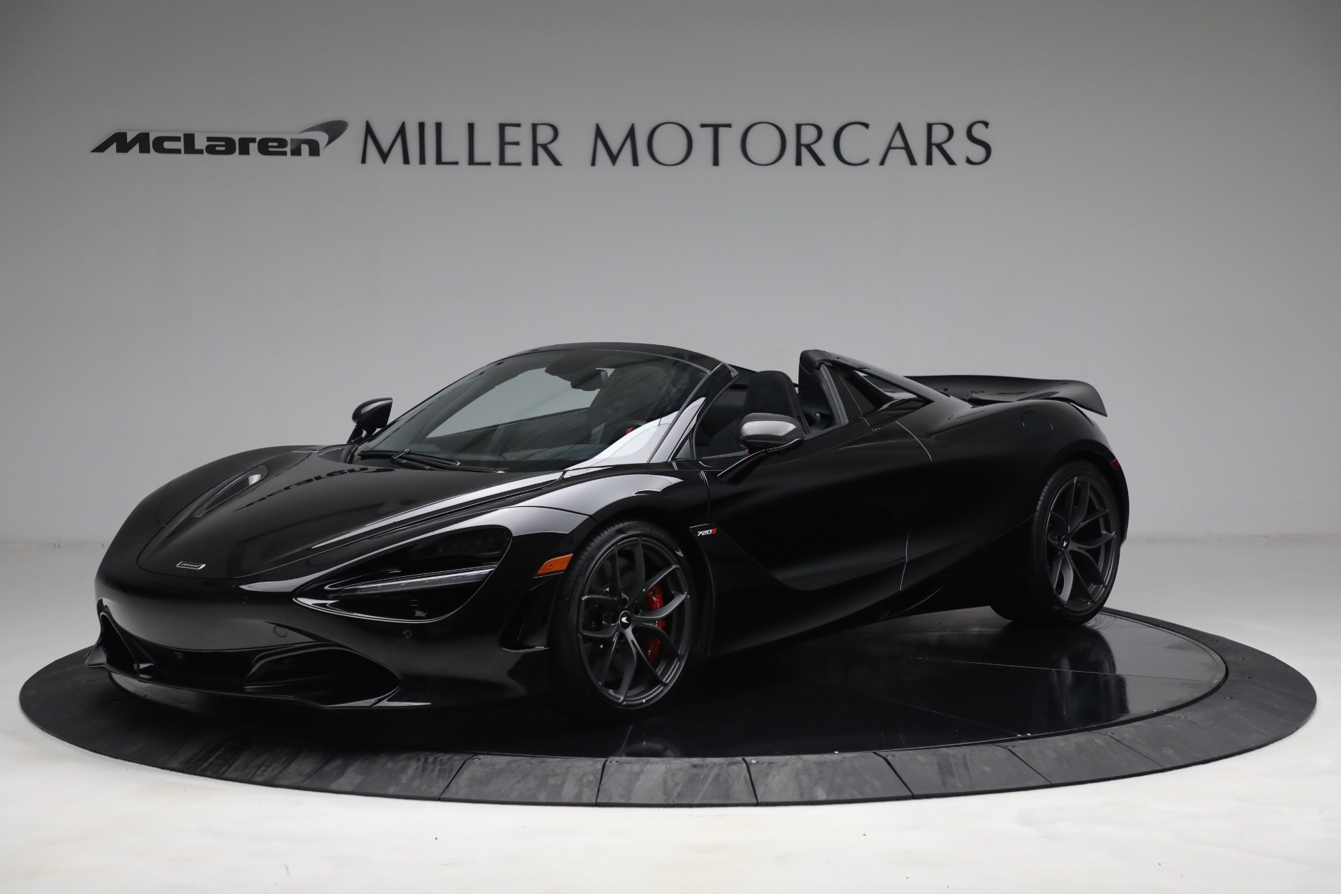 New 2021 McLaren 720S Spider for sale $374,120 at Maserati of Greenwich in Greenwich CT 06830 1
