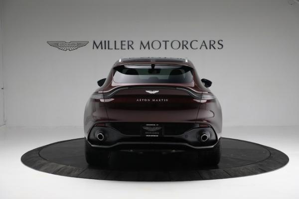 New 2021 Aston Martin DBX for sale $196,386 at Maserati of Greenwich in Greenwich CT 06830 5
